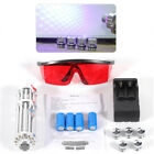 445nm 5W Blue Beam Light Laser Pointer Lazer Powerful Military Pen Goggles BEST
