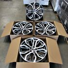 Fits BMW X5 X6 X5M X6M Machined Face Gunmetal 20 375 Style Staggered Wheels