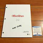 MIKE JUDGE SIGNED OFFICE SPACE FULL117 PAGE MOVIE SCRIPT w BECKETT BAS COA