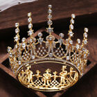 Vintage Wedding Bridal Crystal Queen Gold Crown Headbands Tiara Pageant Jewelry