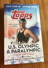 2016 Topps TEAM USA OLYMPIC &PARALYMPIC Sealed Hobby Box 24 Packs Phelps J.Owens