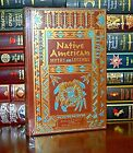 Native American Myths  Legends Illustrated New Sealed Deluxe Leather Bound