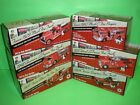 TEXACO COMPLETE SET FIRE TRUCK SERIES #1-6 / NEW IN BOX - MINT