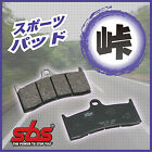 SBS Racing Carbon 638RQ Brake Pads SUZUKI Skywave 400 Type S