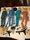 VINTAGE MARX JOHN AND JANE WEST FIGURE AND ASCESSORY LOT