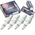 4pcs 96-99 KTM LC2 NGK Iridium IX Spark Plugs 125 Kit Set Engine xd
