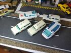 LOT OF 5 VINTAGE MATCHBOX DIECAST RESCUE VEHICLES AMBULANCE