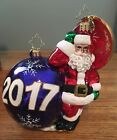 CHRISTOPHER RADKO Having a Ball Ornament 2017 NWT - Dated Collection