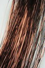 """28"""" Pearl intage copper  Hair Tinsel 1 Pack flare strand hair bling  extensions"""