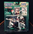 STARTING LINEUP CLASSIC DOUBLES DICK BUTKUS AND JUNIOR SEAU