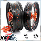 3.5/5.0 CUSH DRIVE KTM 625SMC KTM640 LC4 SUPERMOTO KTM660 SMC WHEEL RIM ORANGE