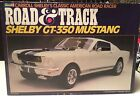 Shelby Mustang GT-350 By Revell 1:12 Scale. Mint In Box. Road and Track