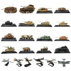 Diecast Military Vehicles WWII Tank Fighter Plane Armor 1 32 1 72 1 144 Scale