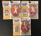 Set Of 3 1993 Starting Lineup SLU Cooperstown coll. Babe Ruth, Ty Cobb, Cy Young