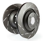 EBC USR Slotted Front Rotors for 99 00 Jeep Cherokee 25L 78mm Rotors USR1256