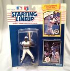 Toronto Blue Jays Fred McGriff 1990 Starting Lineup w Rookie Collectors Card