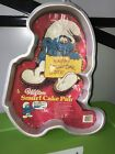 Vintage Wilton Cake Pan Smurfs NEW 1983 Directions Never Used