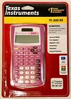Texas Instruments TI 30XIIS Solar Scientific Calculator With Hard Cover Pink NIP