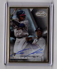2018 Topps Gold Label Framed Ronald Acuna Jr. Rookie Auto Atlanta Braves RC
