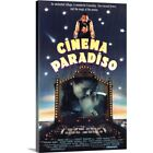 Premium Thick Wrap Canvas Wall Art entitled Cinema Paradiso 1988