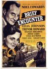 Poster Print Wall Art entitled Brief Encounter 1945
