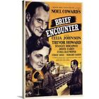 Premium Thick Wrap Canvas Wall Art entitled Brief Encounter 1945