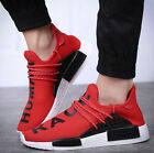 Red US9 Men Boys Breathable Lace Up Sneaker Shoes Athletic Run Shoes Fashion