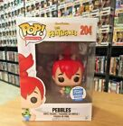 Funko Pop! Pebbles #204 Funko Shop Exclusive 8000 PCS Flintstones Hanna-Barbera