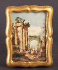 vintage gold wood italian picture frame.  made in Italy.