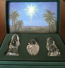 1996 Marquis Waterford Crystal The Holy Family The Nativity Collection is NIB