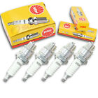 4pcs Royal Enfield BULLET ELECTRA NGK Standard Spark Plugs 350 Kit Set Engin of
