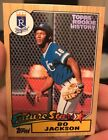 BO JACKSON 2018 TOPPS ARCHIVES TOPPS ROOKIE HISTORY INSERT ROYALS 100/150