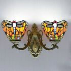 16 Tiffany Stained Glass Style Vanity Lighting Wall Sconce Lamps with Shade