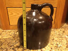 Antique Red Wing Beehive Brown Crock Jug Stoneware Primitive Pottery Moonshine