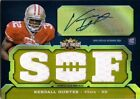 KENDALL HUNTER 2011 Topps Triple Threads Gold Rookie Autograph Jersey Card 15 25