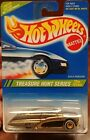 Hot Wheels 1995 TREASURE HUNT GOLD PASSION RUBBER REAL RIDER TIRES MOC 164
