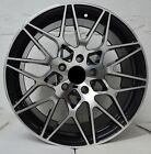 Set of 4 Wheels 18 inch Black Machined Rims fits LINCOLN MKT