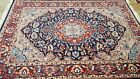 FINE PARS HAND-KNOTTED INDIA AGRA 100% WOOL NEW RUG EXTREMELY DURABLE 6'X9'