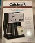 Cuisinart CHW 12 Cup Programmable Coffee Maker Hot Water Black Stainless Steel