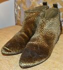Old Navy Rock Star Olive Cheetah Size 8 Boot