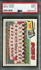 1977 Topps #287 Reds Team Sparky Anderson PSA 9 Mint!