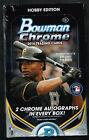 2014 BOWMAN CHROME BASEBALL HOBBY BOX 2 CHROME AUTOS BRYANT SCHWARBER SPRINGER