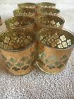 Arcoroc France Vintage Culver High Ball Glasses