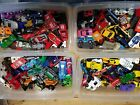 Lot of over 170 mixed Hot Wheels Matchbox +more die cast cars over 10 lbs