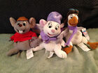 DISNEY BEANIE BABIES FROM RESCUERS DOWN UNDER LOT OF 3