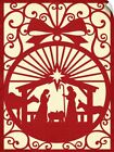 Wall Decal entitled Christmas Nativity
