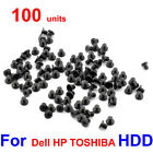100pcs Lot Laptop 25 HDD Hard Drive Caddy Screws for Dell HP IBM TOSHIBA ASUS