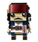 New LEGO BrickHeadz Captain Jack Sparrow 41593 Building Toy 109-pcs