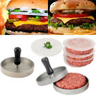 Hamburger Patty Maker Round Meat Beef Grill Burger Press Mold Non Stick Cooking