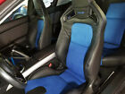 2009-2011 Mazda Rx-8 R3 Replacement Leather Seat Covers Black With Blue